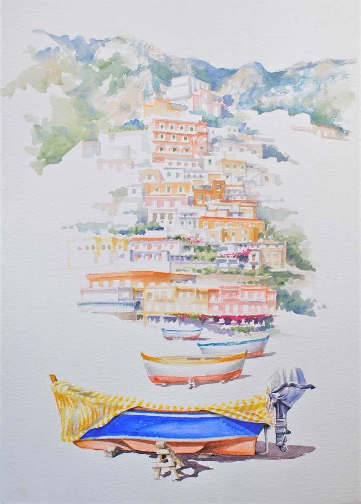 Angeloni-acquerello-barche 02