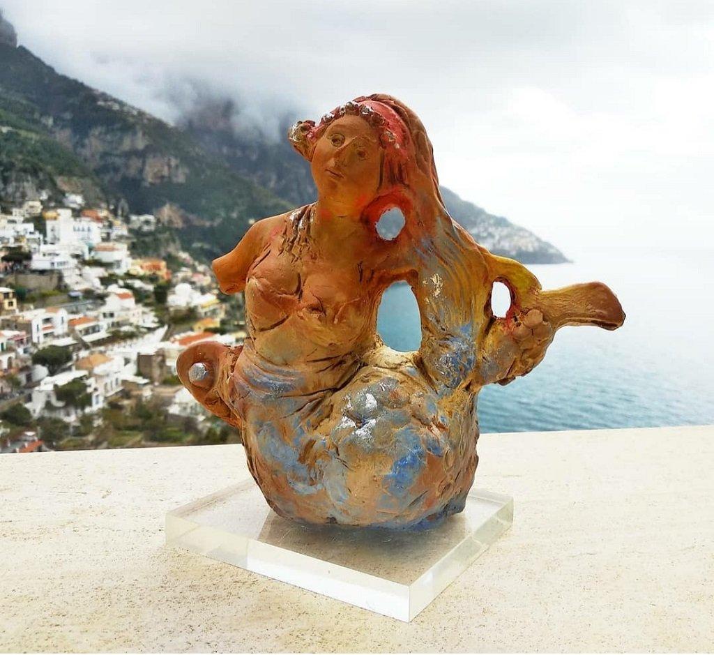 Moccia: Sirena in terracotta