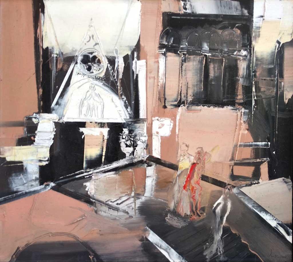 Veneziani: olio su tela, 80x90 cm